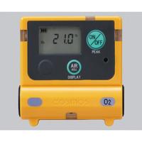 新コスモス電機 装着型ガス濃度計 0〜25vol%(25〜50vol%) XO-2200 1台 1-8793-11 (直送品)