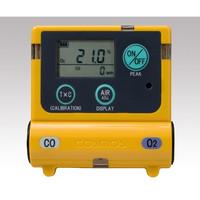 装着型ガス濃度計 0〜25vol%(25〜50vol%)、0〜300ppm(300〜2000ppm) XOC-2200 1-8793-13 (直送品)