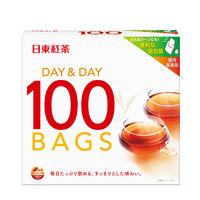 日東紅茶 デイ&デイ ティーバッグ 1箱(100バッグ入)