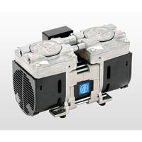 アルバック販売(ULVAC) ダイアフラム型ドライ真空ポンプ 6.65kPa DAP-6D 1台 1-9197-01 (直送品)