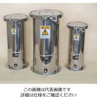 ユニコントロールズ ステンレス加圧容器(TBシリーズ) 1L TB1N 1個 1-9524-01 (直送品)