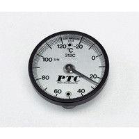 イチネンTASCO バイメタル表面温度計 低温・高温各表示針無し TMS50-120 1個 1-9897-01 (直送品)