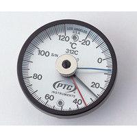 イチネンTASCO バイメタル表面温度計 低温・高温各表示針付き TMS50N-120 1個 1-9897-03 (直送品)