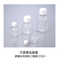 アズワン 角型培地瓶(PETG製・滅菌済) 125mL 1ー1500ー03 1箱(24包入) 1ー1500ー03 (直送品)