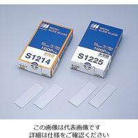 松浪硝子工業 水スライドグラス 切放 100枚入 S1225 1箱(100枚) 2-155-04 (直送品)