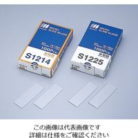 松浪硝子工業 水スライドグラス プレクリン切放 100枚入 S7224 1箱(100枚) 2-155-02 (直送品)