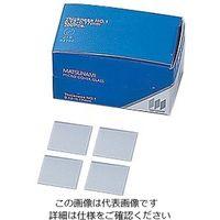 松浪硝子工業 マツナミカバーグラス(No.1) 24×24mm 1000枚入 2-176-13 1箱(1000枚) (直送品)