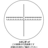 東海産業 スケール・ルーペ目盛板 10×用 スタンダード 1枚 2-191-07 (直送品)