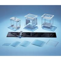 アズワン 薄層クロマトグラフィー 吸着剤塗荷布硝子板の並列板 100-3 1枚 2-282-02 (直送品)