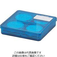 メンブレンフィルター(セルロース混合エステル・格子入) 0.45μm×φ25mm 100枚入 白 HAWG02500 2-3045-04 (直送品)