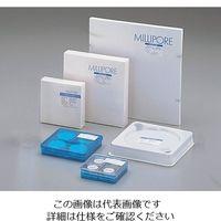 メルク(Merck) オムニポアTM メンブレン(水系、溶媒系両用) 1μm×φ25mm 100枚入 JAWP02500 2-3052-04 (直送品)