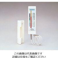 佐藤計量器製作所 冷蔵庫用温度計(チェッカーメイトII) 1針タイプ 1716-00 0571 1個 2-4708-01 (直送品)