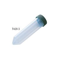 アズワン 遠沈管 50mL 滅菌済 T420-3 1箱(500本) 2-4735-01 (直送品)