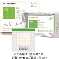 JNC(ジェイエヌシー) MC-Media Pad(TM) 真菌用迅速タイプ (100枚) 1箱(100枚) 2-5838-13 (直送品)