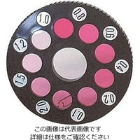 アズワン 残留塩素測定器(DPD試薬一液タイプ)用 DPD比色板 1枚 2-6205-12 (直送品)