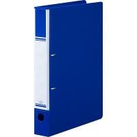リングファイル D型2穴 A4タテ 背幅41mm 10冊 ブルー アスクル