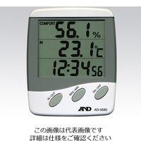 エー・アンド・デイ(A&D) 温湿度計 AD-5680 1台 2-7397-01 (直送品)