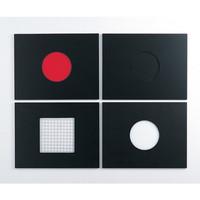 アズワン コロニーカウンターライト台DX 交換用照明板・黒 1個 2-7592-13(直送品)