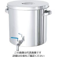 日東金属工業 ステンレスバルブ付タンク 10L STV-24 1個 2-8225-03 (直送品)