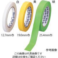 アズワン ライトオン(R)テープ 19.0mm 緑 F13486-0075 1巻(36.6m) 2-8260-05 (直送品)