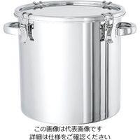 日東金属工業 電解研磨処理済 ステンレス密閉容器 20L CTH-30-EP 1個 2-8256-03 (直送品)