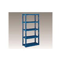 三甲(サンコウ/SANKO) 組立棚L(ブルー) Lブルー 1個 3-4012-03 (直送品)