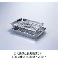 丸山ステンレス ステン水切りセット 1個 4-113-01 (直送品)