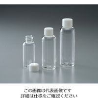 アズワン ペットボトル 120mL 1箱(100本入) 4-5341-05 (直送品)