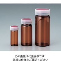 マルエム サンプル管瓶 褐色 5mL No.2 1本 5-097-04(直送品)