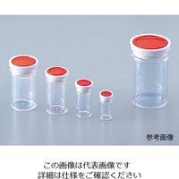 アズワン スチロール棒瓶(標本瓶) 120mL 1本入り S-120 1本 5-090-08 (直送品)