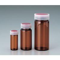 マルエム サンプル管瓶 褐色 3mL No.01 1本 5-097-02 (直送品)