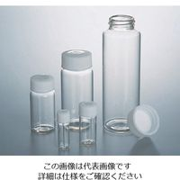 マルエム スクリュー管瓶No.01 3.5mL 透明 No.01 1本 5-098-02 (直送品)
