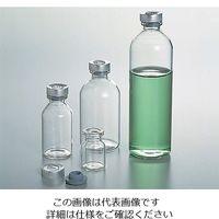 アズワン バイアル瓶(ゴム栓アルミキャップ付き) 50mL NO.7 1箱(50本入) 5-111-07 (直送品)