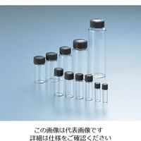 マルエム マイティバイアル 6mL 100本入 透明 No.2 1箱(100本) 5-115-05 (直送品)