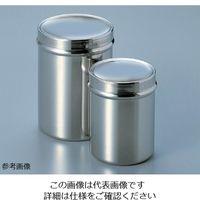 アズワン ステンレス万能缶 (フタ取手付き) φ80×100mm 1個 5-188-03 (直送品)