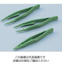 アズワン プラスチックバイオピンセット 10本入 1箱(10本) 5-5305-01 (直送品)