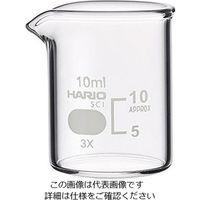 柴田科学 ビーカー(目安目盛付き) 10mL 1個 6-214-12 (直送品)