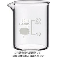 柴田科学 ビーカー(目安目盛付き) 20mL 1個 6-214-13 (直送品)