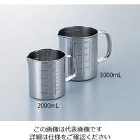 一菱金属 ステンビーカー 200mL 手付き 1個 6-224-01 (直送品)