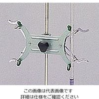 野中理化器製作所 磁製ビュレットスタンド用 2個架米式挟 1個 6-255-05 (直送品)