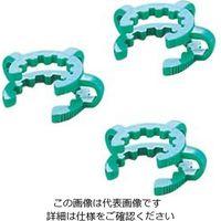 アズワン ケッククリップ・テーパージョイント グリーン 適合スリ部上径:24mm 1袋(10個) 6-510-05 (直送品)