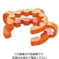 アズワン ケッククリップ・テーパージョイント オレンジ 適合スリ部上径:34mm 1袋(10個) 6-510-07 (直送品)