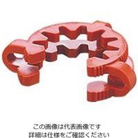 アズワン ケッククリップ・テーパージョイント ブラウン 適合スリ部上径:45mm 1袋(10個) 6-510-09 (直送品)
