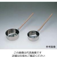 丸山ステンレス 木柄付き水杓子(SUS304) 1.4L 1本 6-518-01 (直送品)