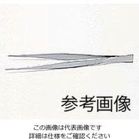 清水アキラ ステンレス製ピンセット 165mm 1本 6-531-07 (直送品)