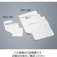 アズワン アルミシート 100×100mm 500入 10 1箱(500枚) 6-714-01 (直送品)