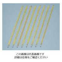 日本計量器工業 標準温度計(棒状) No.1 0〜50℃ 成績書付 1本 6-7702-02 (直送品)