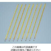 日本計量器工業 標準温度計(棒状) No.2 50〜100℃ 成績書付 1本 6-7702-03 (直送品)