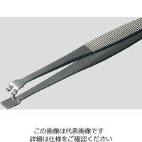 アズワン MEISTERピンセット ウェハー用 幅広 耐酸鋼 41LB2-SA 1本 6-7907-01 (直送品)