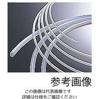 ナフロン(R)PTFEチューブ(インチサイズ) 1/4×3/8φインチ(6.35×9.52φmm) TOMBO No.9003 7-305-02 (直送品)